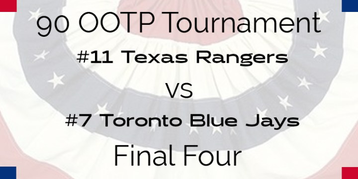 Out Of The Park 1990 Tournament – Final Four – Rangers vs Blue Jays