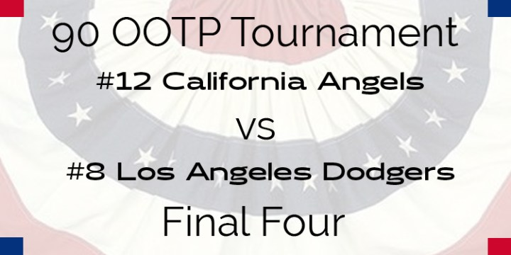 Out Of The Park 1990 Tournament – Final Four – Angels vs Dodgers
