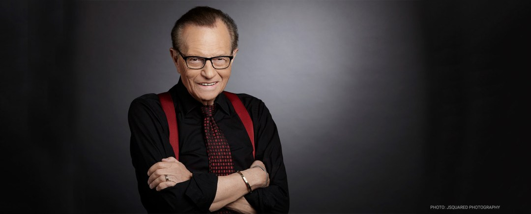 Book Larry King for Speaking, Events and Appearances | APB Speakers