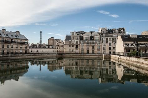 Réservoir d'eau de Passy à Paris