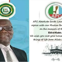 APC Abeokuta South Chairman Felicitates with the Muslim Faithful