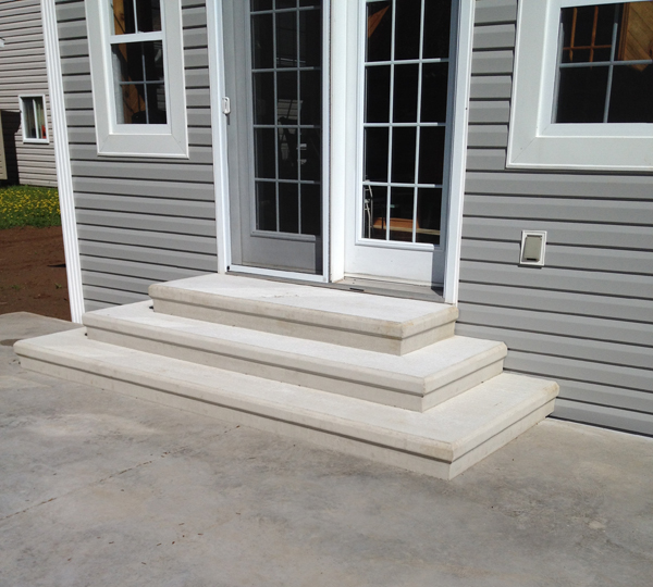 Concrete Steps A Amp P Concrete Products Moncton And