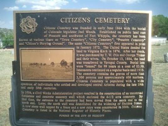 Image result for pics citizens cemetery flagstaff az entrance
