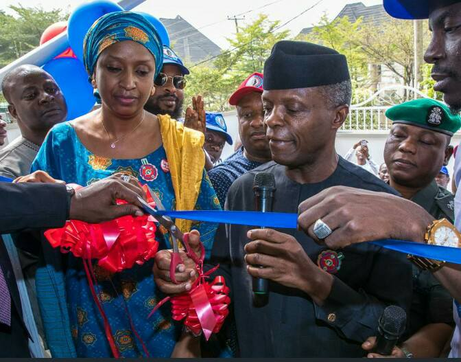 VICE PRESIDENT OSINBAJO COMMISSIONS BUHARI NEW MEDIA CENTER IN ABUJA