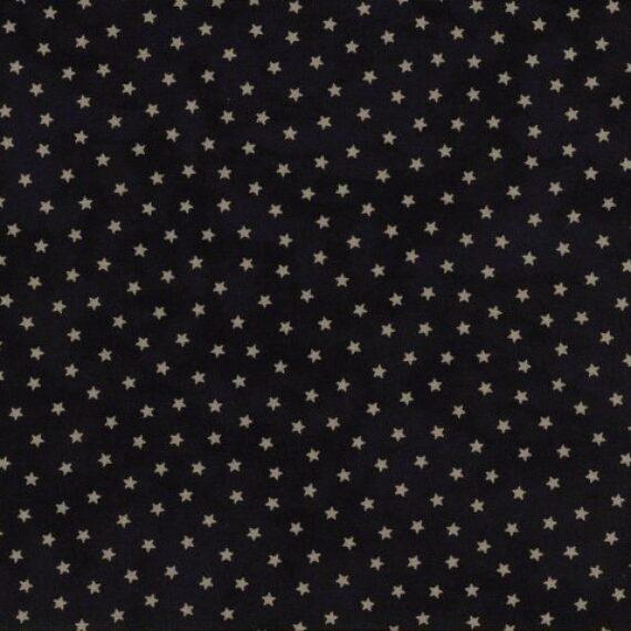 Tessuto 1074 25 Moda Fabrics (blu con stelle)