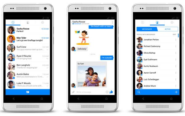 Видео чат приложение Facebook Messenger