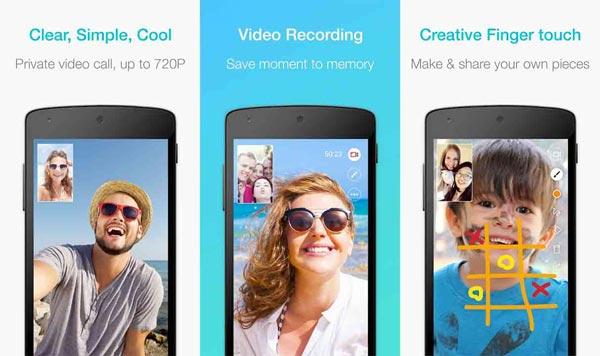Видео чат приложение JusTalk