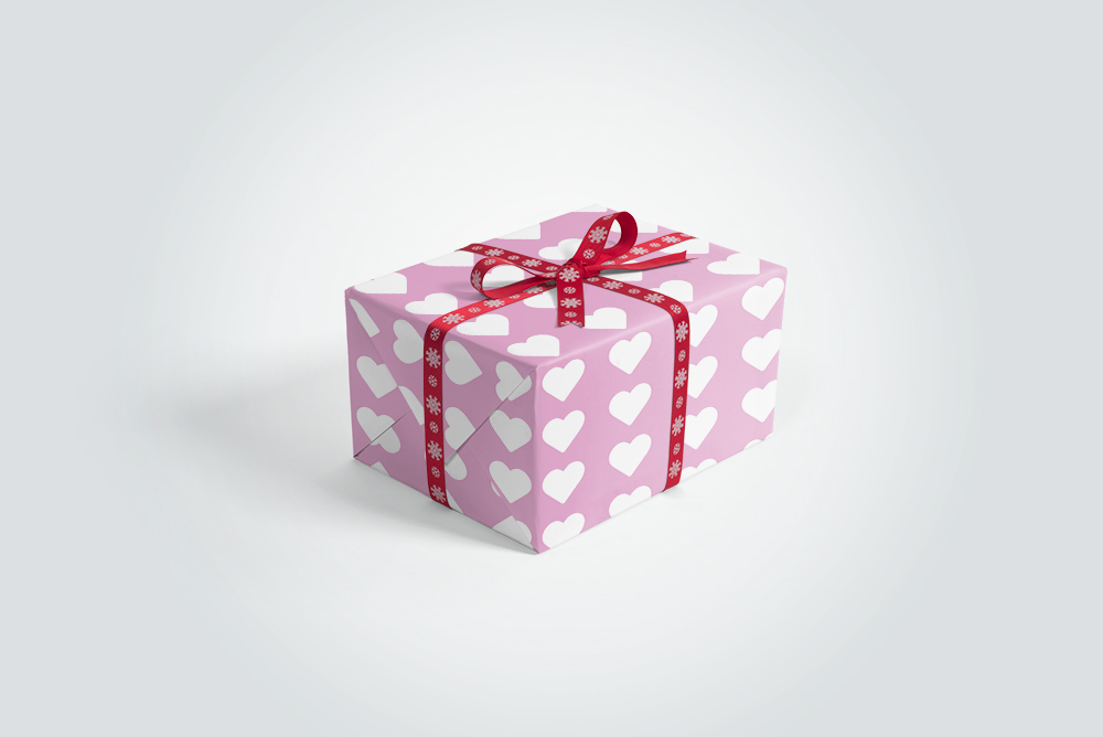 Download free-gift-box-ribbon-mockup-psd