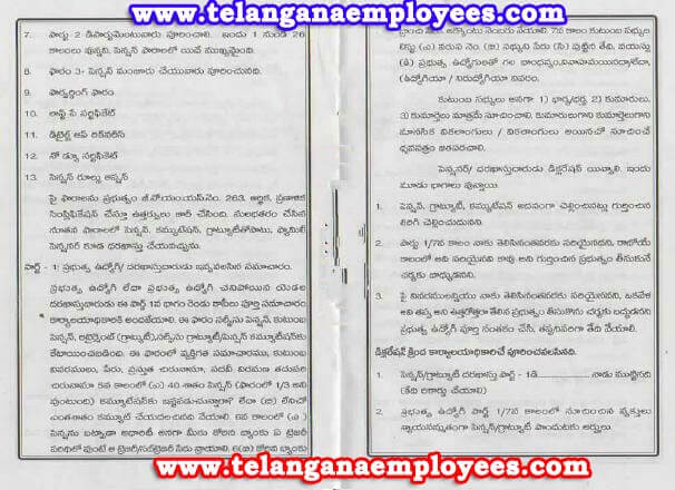 AP Telangana Revised pension Rules 1980 in Telugu (1)