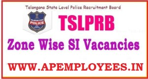 TS SI Zone Wise Posts TSLPRB Vacancies 2018