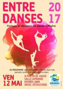 Entre Danses Ondres 2017 APE FCPE