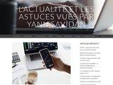 Carnet de notes de Yann Savidan