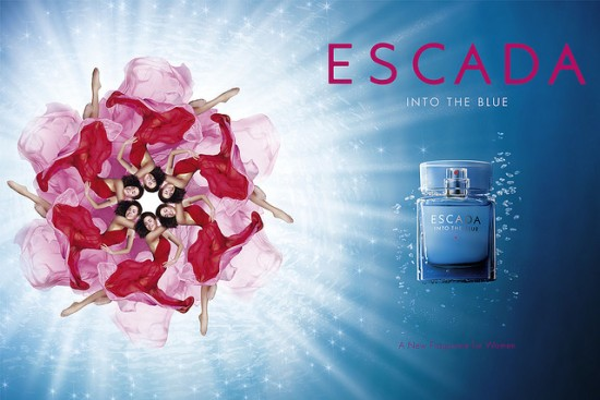 عطر Escada into the blue
