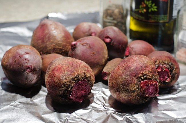 beets washed