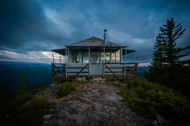 Gold Butte Lookout Tower in Detroit Oregon
