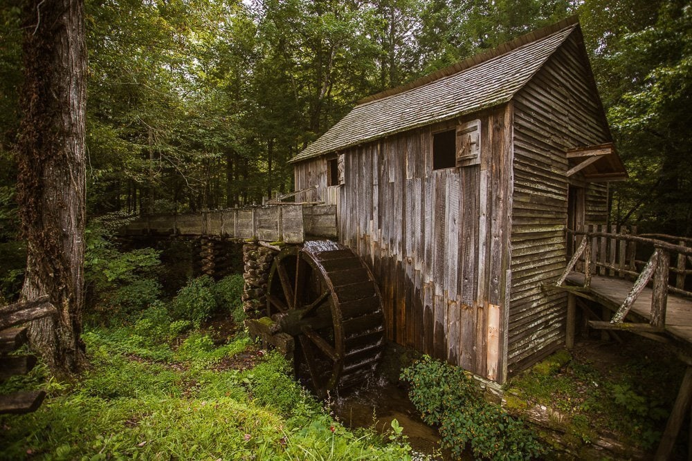 John P Cable Grist Mill - Great Smoky Mountains