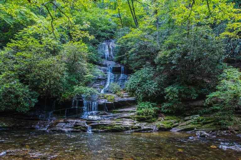 Horizontal Image of Tom Branch Falls