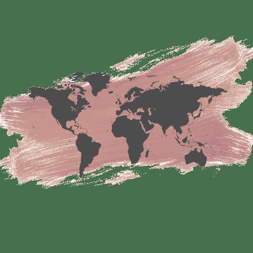 internaltional travel timeline logo