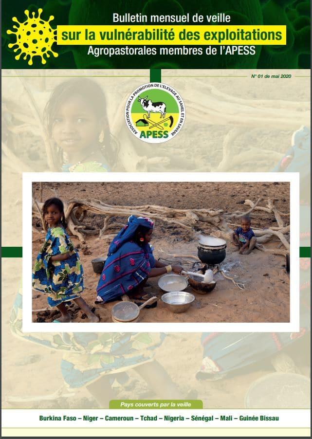 Bulletin mensuel de veille sur la vulnérabilité des exploitations Agropastorales membres de l'APESS