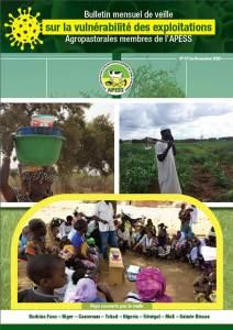 7ème Bulletin mensuel de veille sur la vulnérabilité des exploitations agropastorales membres de l'APESS.