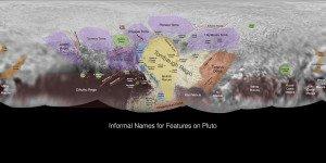 Карта Плутона