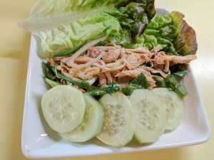 Chicken Larb (Laab or Laaj) Salad