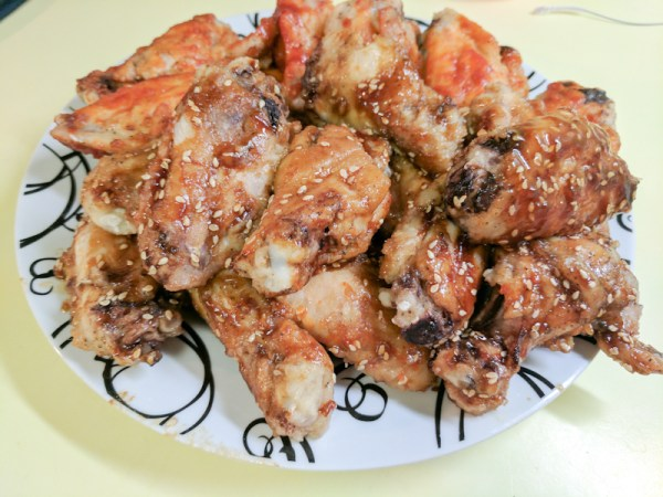 baked teriyaki wings