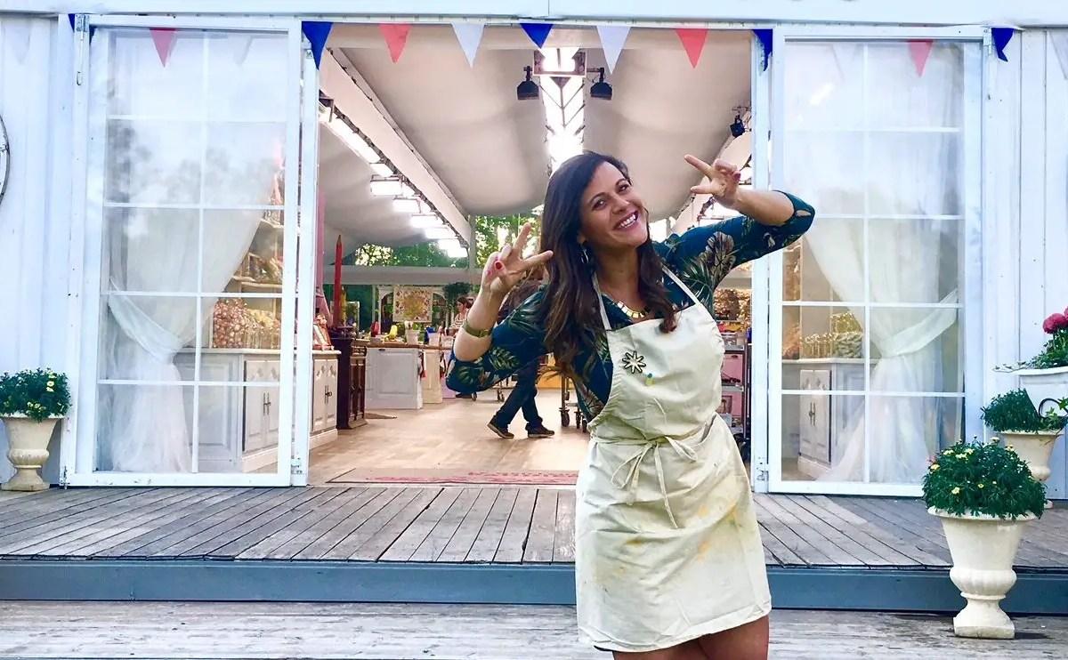 Costarricense destaca en concurso de pastelería en tv francesa.