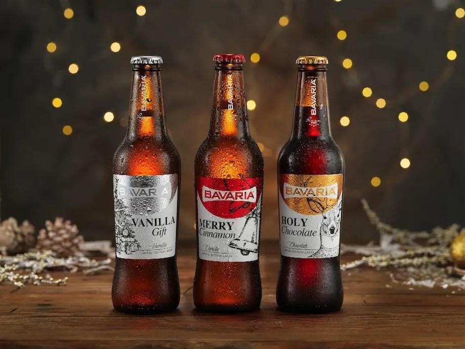 Nuevas cervezas navideñas de Bavaria
