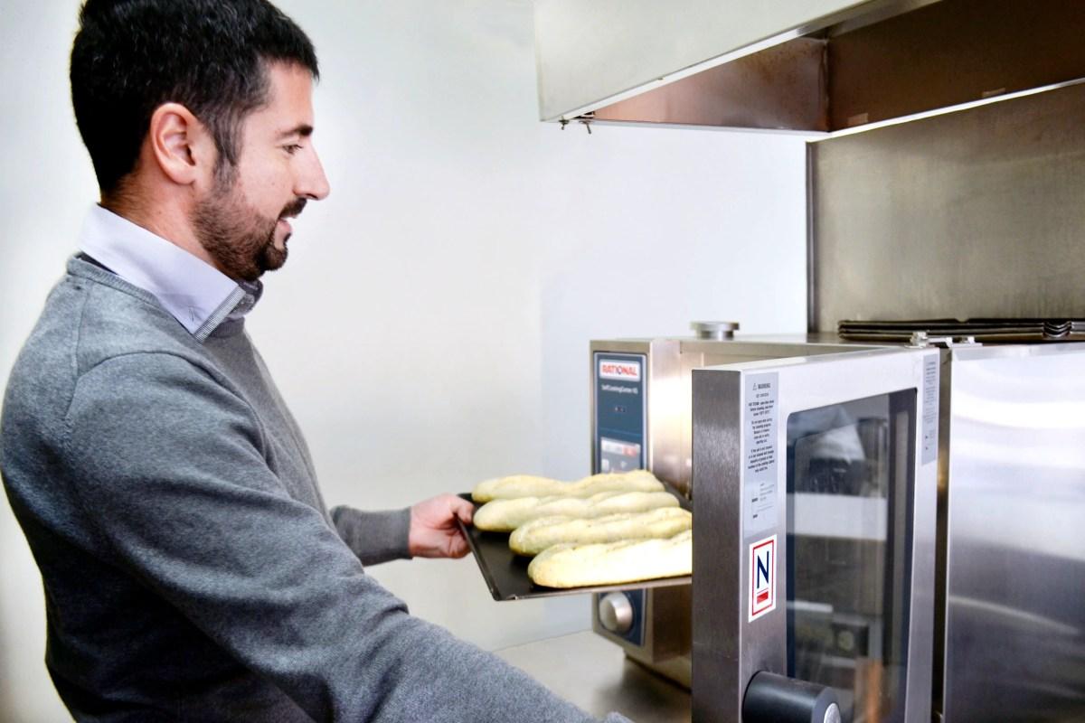 Nueva línea de panadería francesa