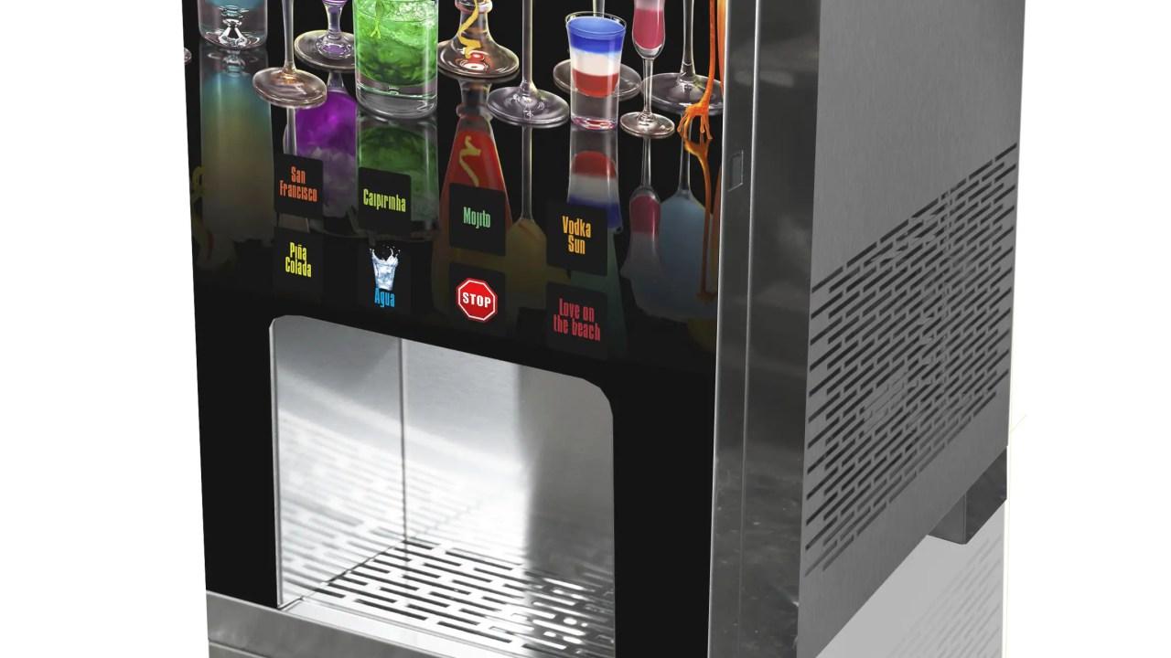 Máquinas para jugos y cócteles permiten ahorrar costos y energía