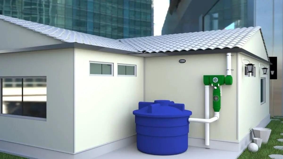 Reservar agua en un tanque: una solución ante la escacez