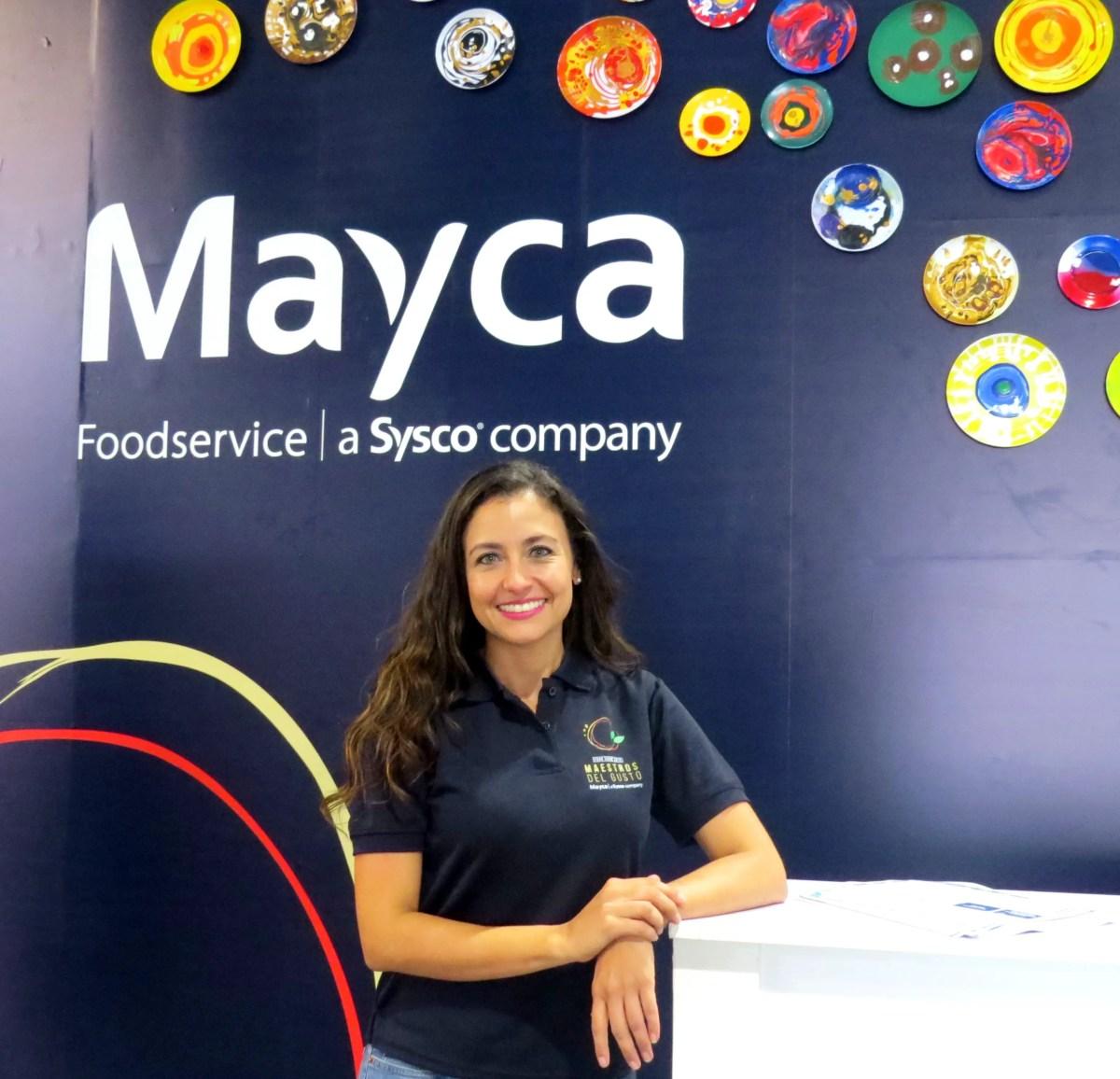Cynthia Popov, gerente de mercadeo de Mayca.