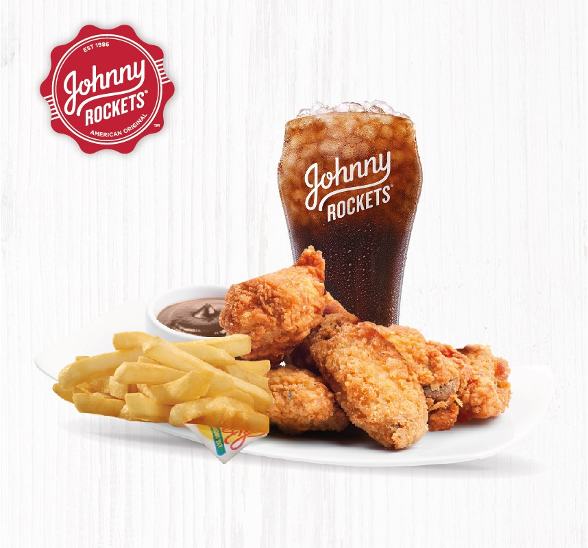 Johnny Rockets renueva su Rocking Menu