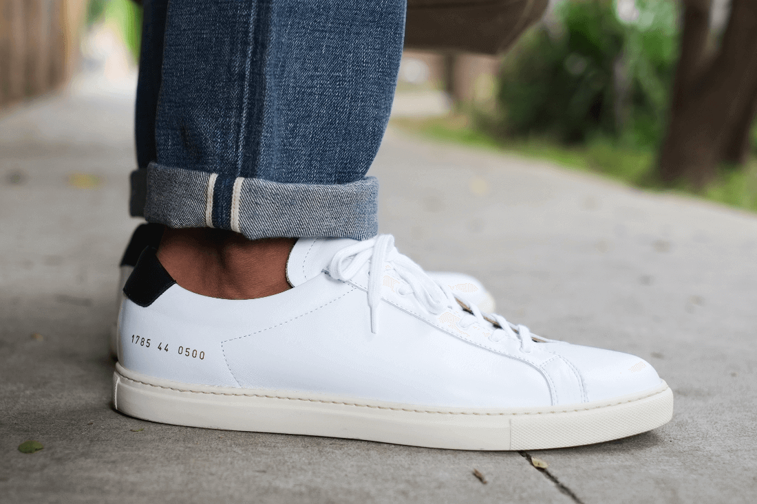 Casual Elegance with Common Projects - Ape to Gentleman