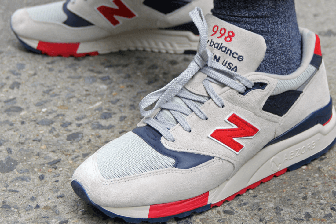 J. Crew x New Balance 998 Independence Day - Ape to Gentleman