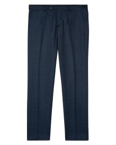 261010W Jaeger Slim Super 120 Flannel WASHABLE Trouser (Navy) -ú110.jpg