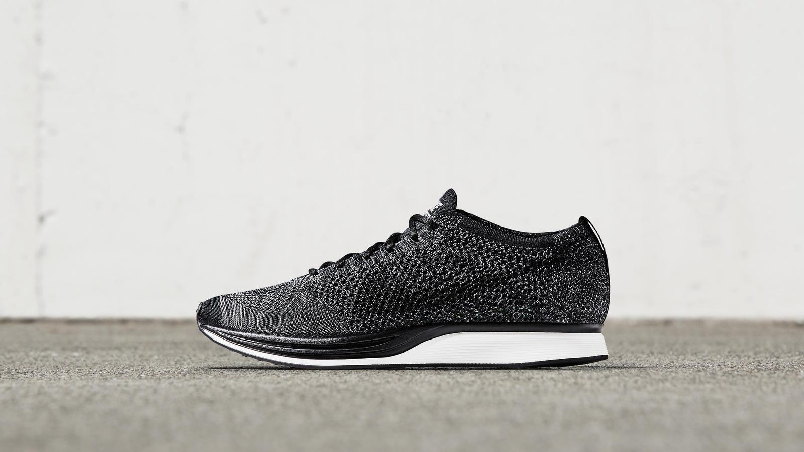 Nike Flyknit Racer- Pitch Black - Ape to Gentleman