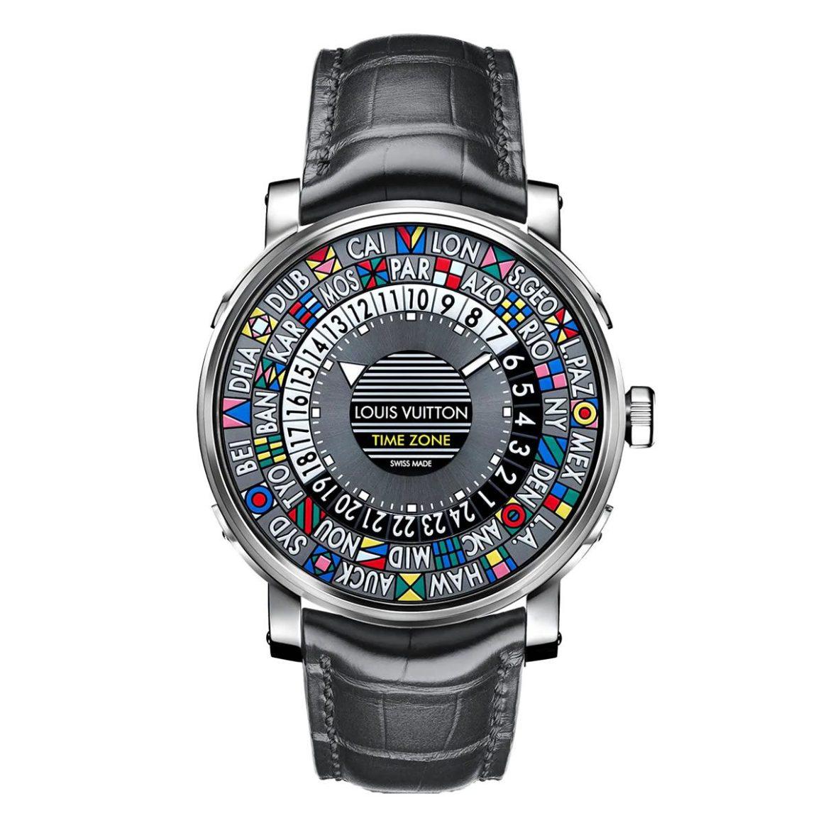 Louis Vuitton Escale Time Zone 39 Men's Fashion Watch