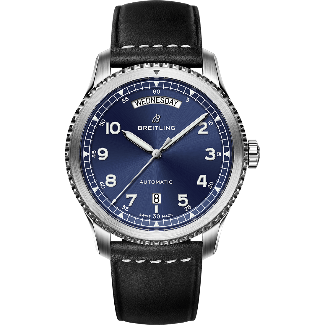 navitimer-8-day-date-with-blue-dial-and-black-strap