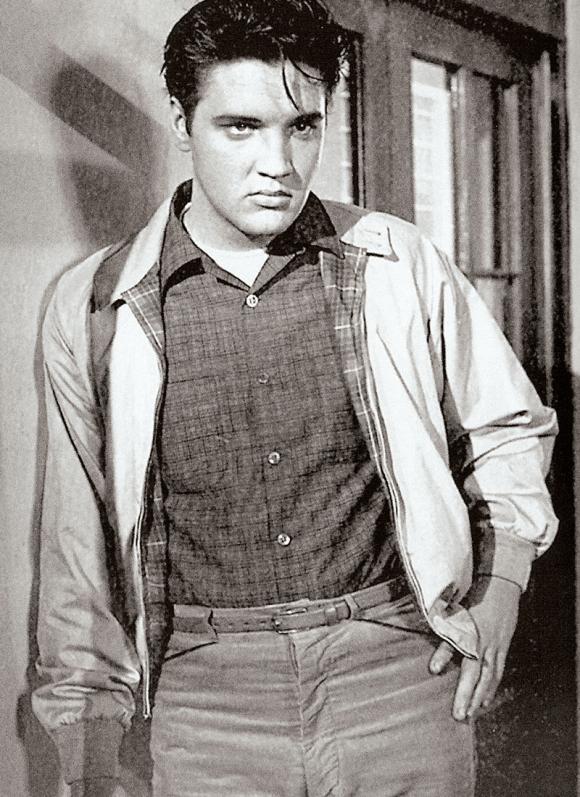 Elvis Presley wearing a Baracuta G9 in King Creole, 1958