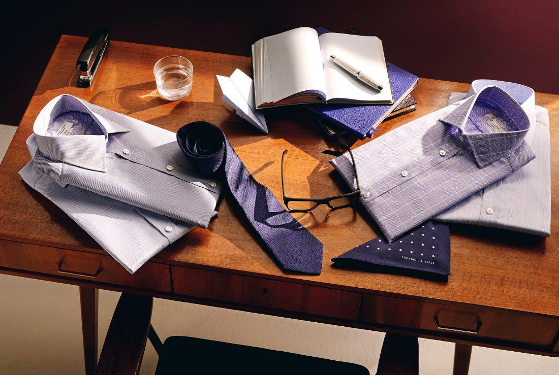 Turnbull & Asser The Journey Shirt Collection