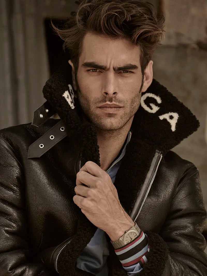Jon Kortajarena is one of the most successful male models of all time