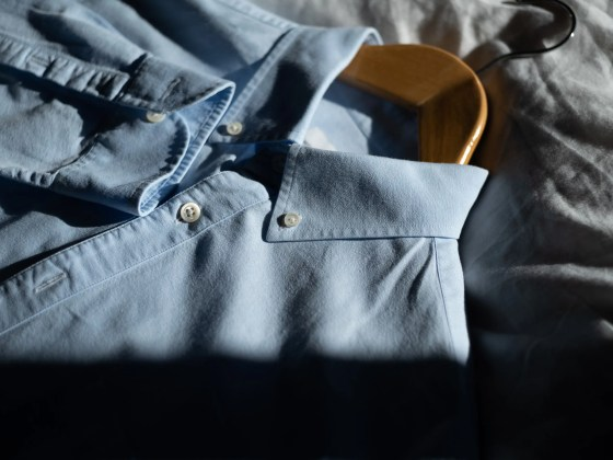 Oxford Cloth Button-Down shirt for men