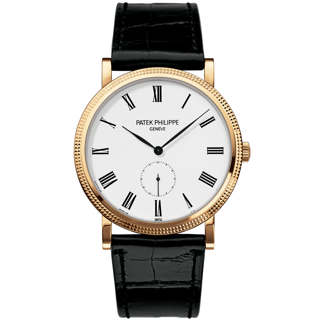 The Patek Philippe Calatrava is an iconic gold watch for men