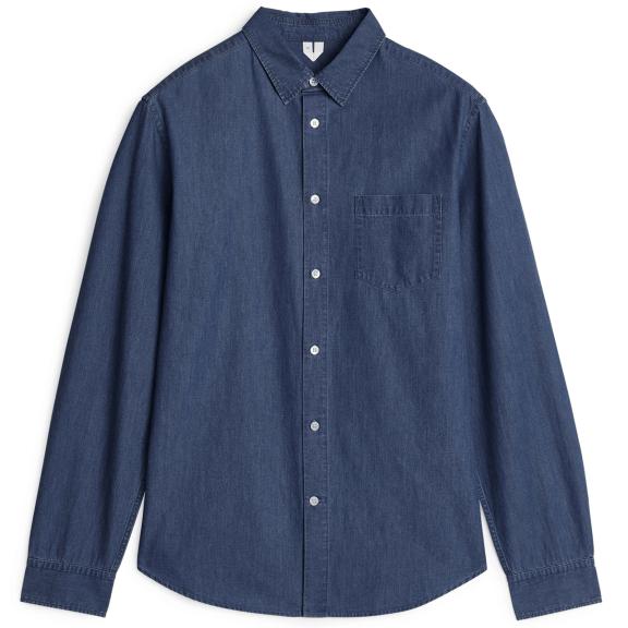 ARKET-Denim-Shirt