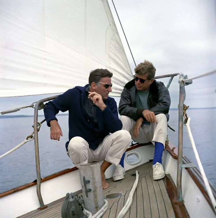 JFK was a huge preppy clothing proponent