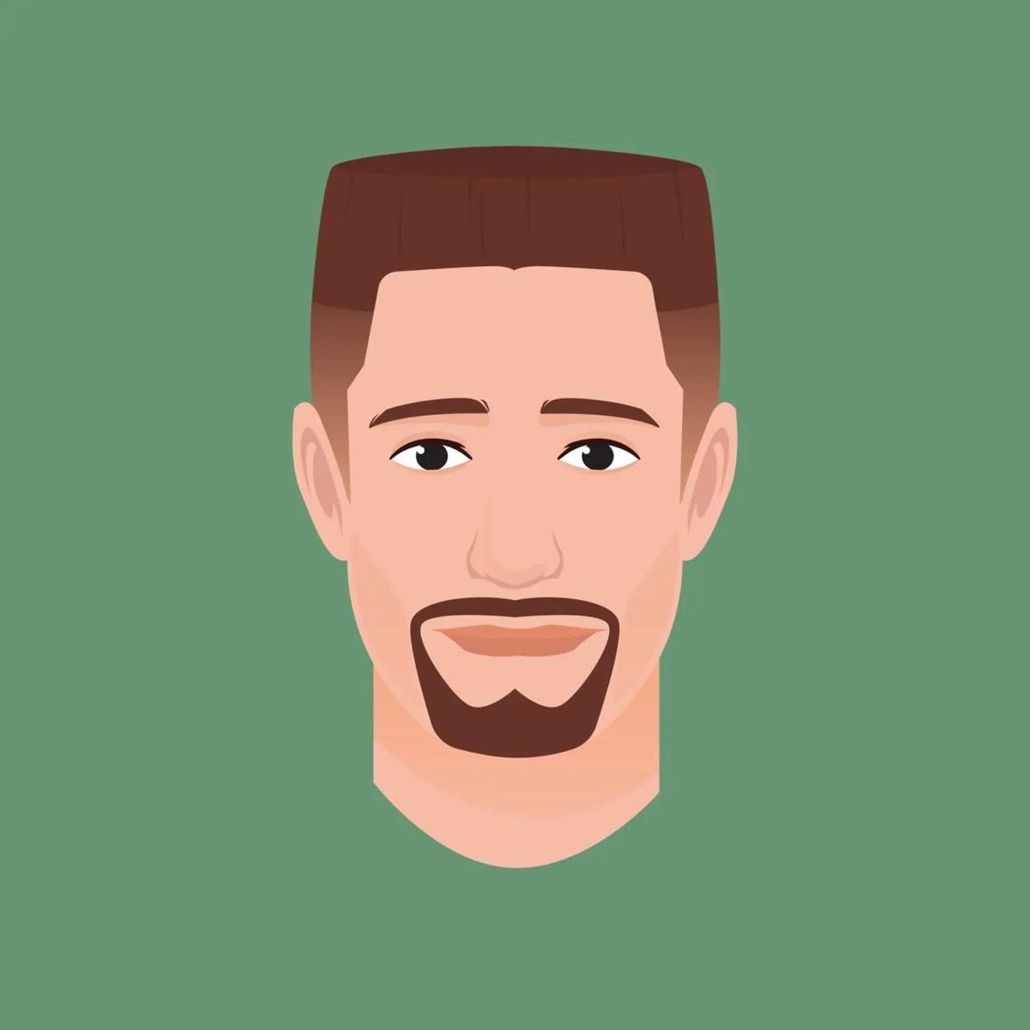 Men's Military Haircuts - The Flat Top