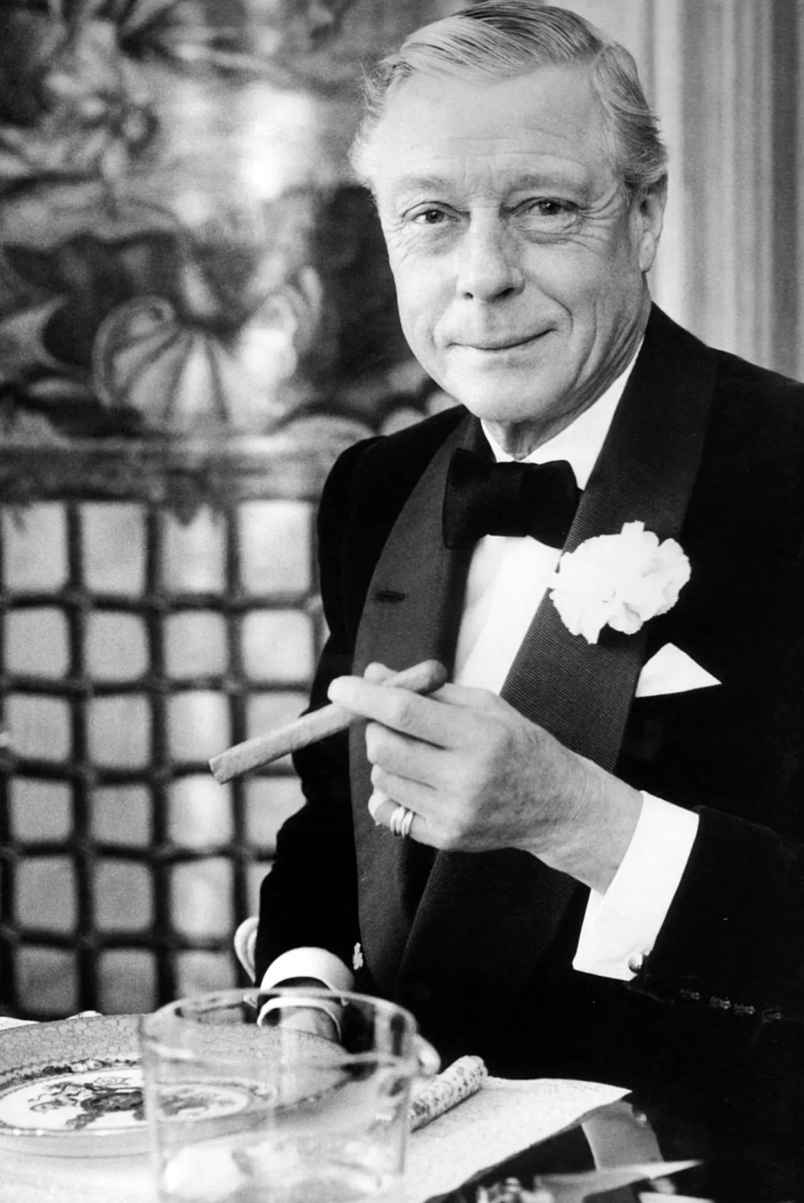 Edward VIII in Black Tie dress