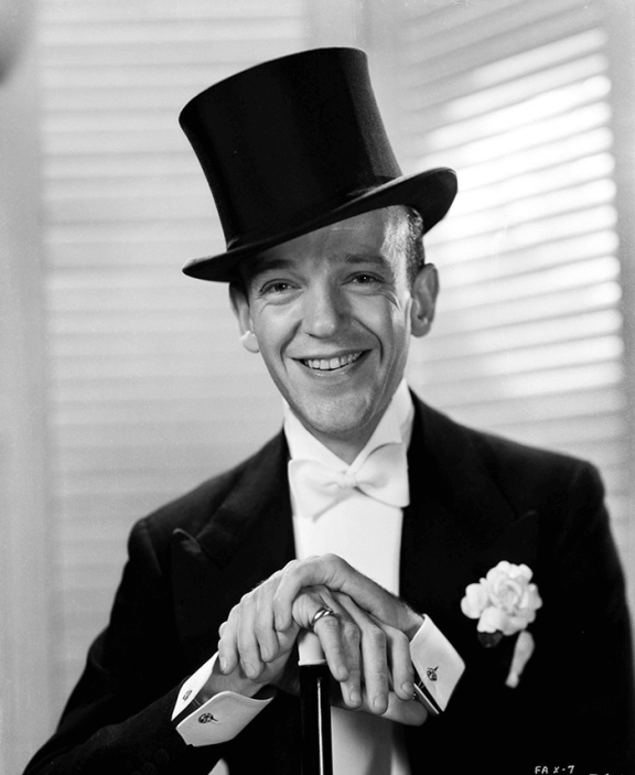 Fred Astaire in Black Tie